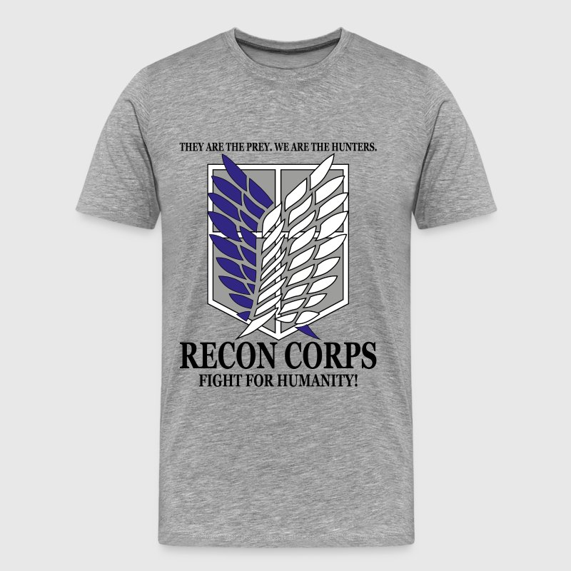 Recon Corps- Attack on Titan T-Shirts - Men's Premium T-Shirt
