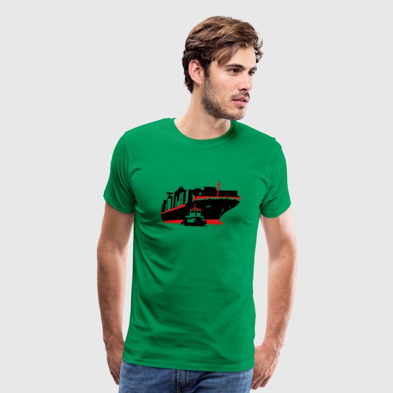 container ship T-Shirts - Men's Premium T-Shirt