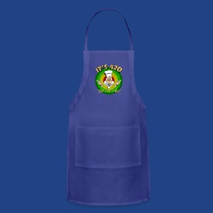 It's 420 - Let's all Toke! - Adjustable Apron