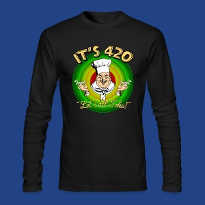 It's 420 - Let's all Toke! - Men's Long Sleeve T-Shirt by Next Level