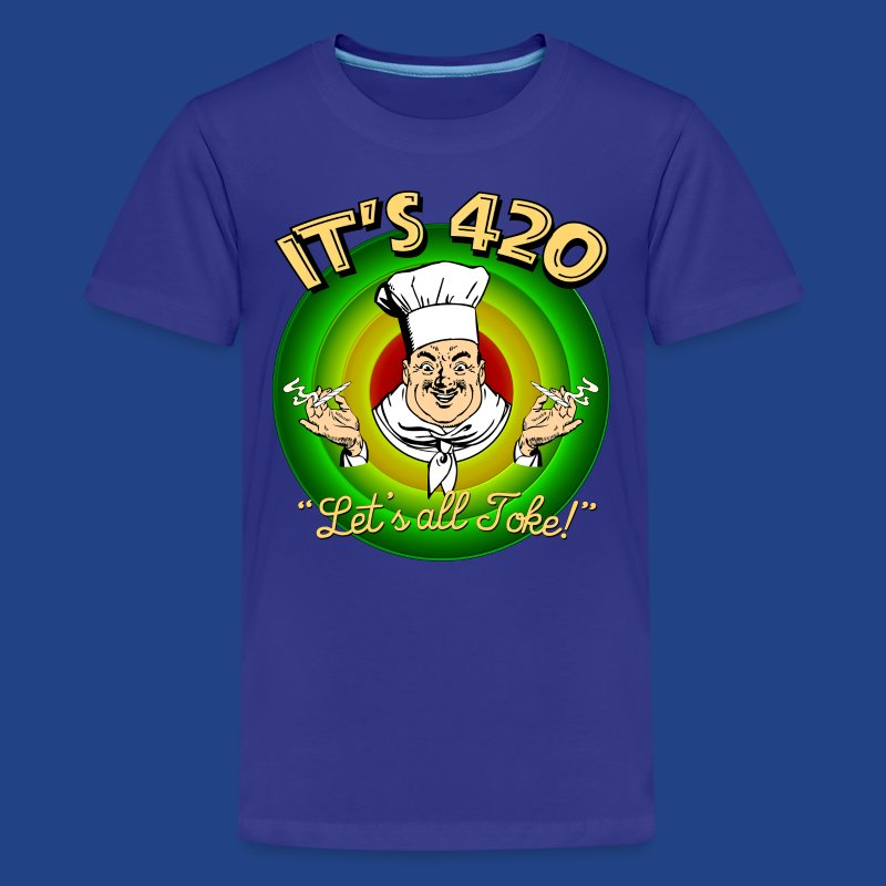 It's 420 - Let's all Toke! - Kids' Premium T-Shirt