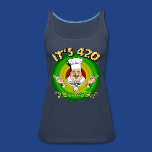 It's 420 - Let's all Toke! - Women's Premium Tank Top