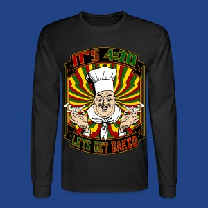 It's 420 - Let's Get Baked! - Men's Long Sleeve T-Shirt