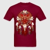 Native American Beadwork Cardinal Mandala - Men's T-Shirt