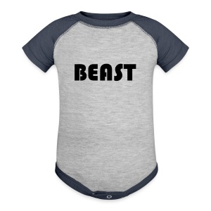 BEAST Shirt - Baby Contrast One Piece