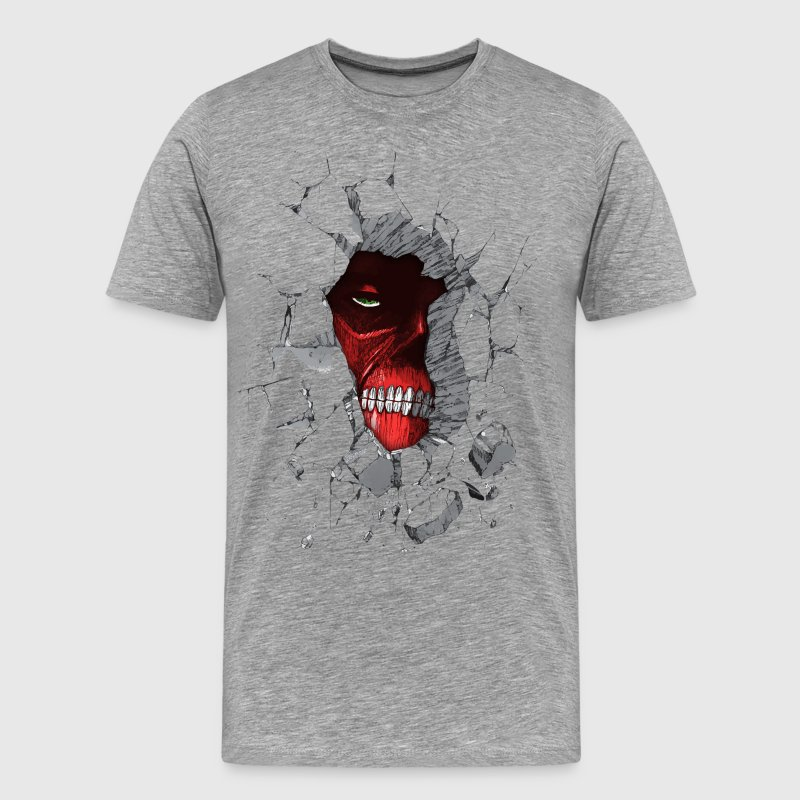 Peeking Titan v2 - Men's Premium T-Shirt