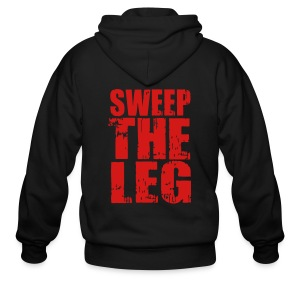 Sweep The Leg - Men's Zip Hoodie