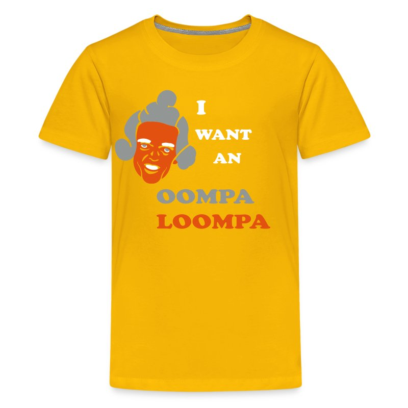 OOMPA LOOMPA kids T | in2ition - Kids' Premium T-Shirt