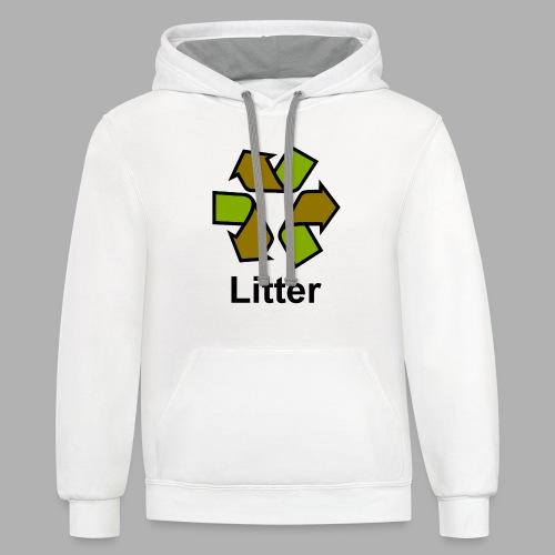 Litter - Contrast Hoodie