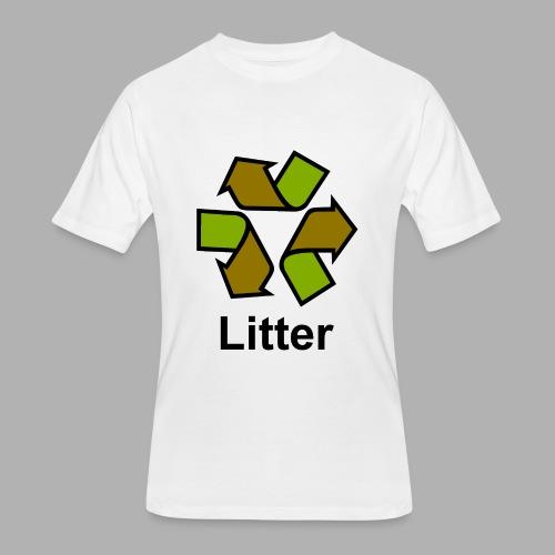 Litter - Men's 50/50 T-Shirt