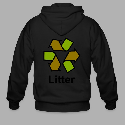 Litter - Men's Zip Hoodie