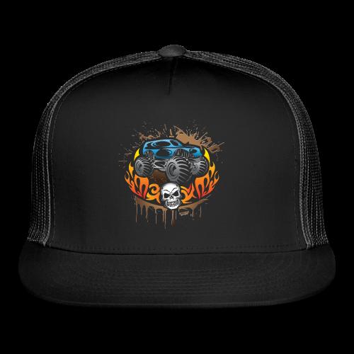 Monster Truck Tattoo - Trucker Cap