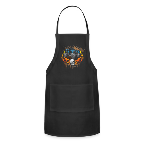 Monster Truck Tattoo - Adjustable Apron