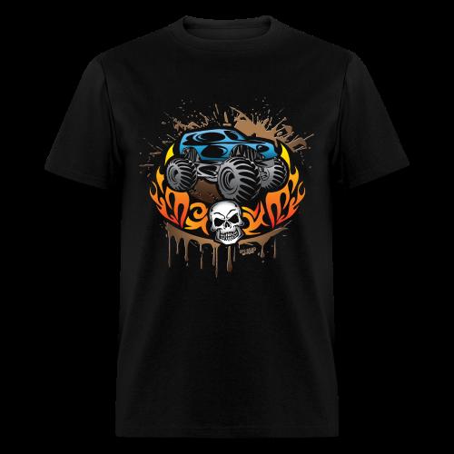 Monster Truck Tattoo - Men's T-Shirt
