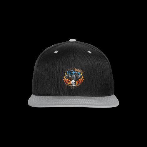 Monster Truck Tattoo - Snap-back Baseball Cap