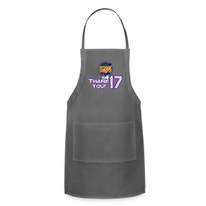Thank You 17 - Mens - T-shirt (Purple) - Adjustable Apron