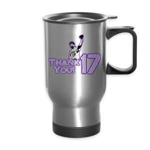 Thank You 17 - Mens - T-shirt (Purple) - Travel Mug