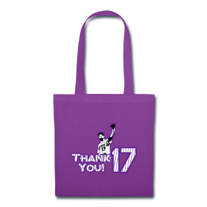 Thank You 17 - Mens - T-shirt (Purple) - Tote Bag