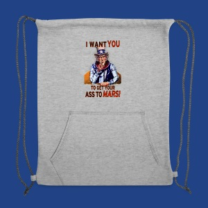 Uncle Sam - Mars - Sweatshirt Cinch Bag