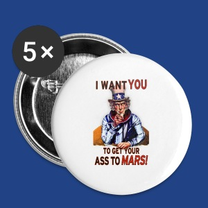Uncle Sam - Mars - Large Buttons
