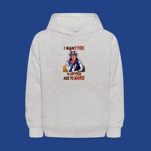 Uncle Sam - Mars - Kids' Hoodie