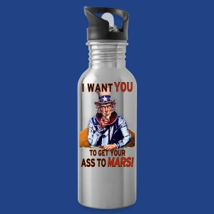 Uncle Sam - Mars - Water Bottle