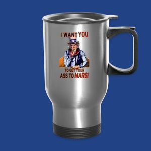 Uncle Sam - Mars - Travel Mug