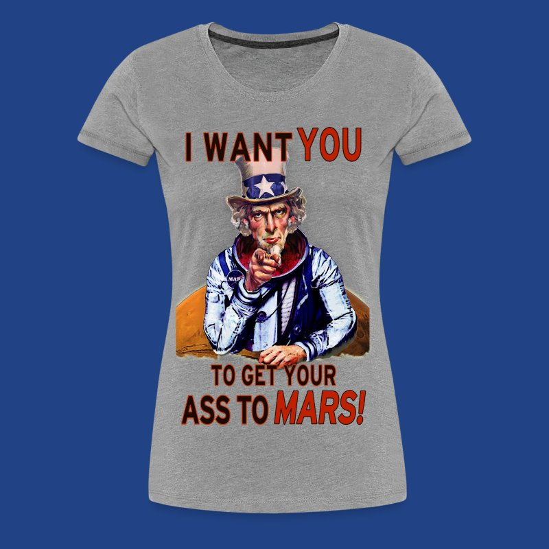 Uncle Sam - Mars - Women's Premium T-Shirt