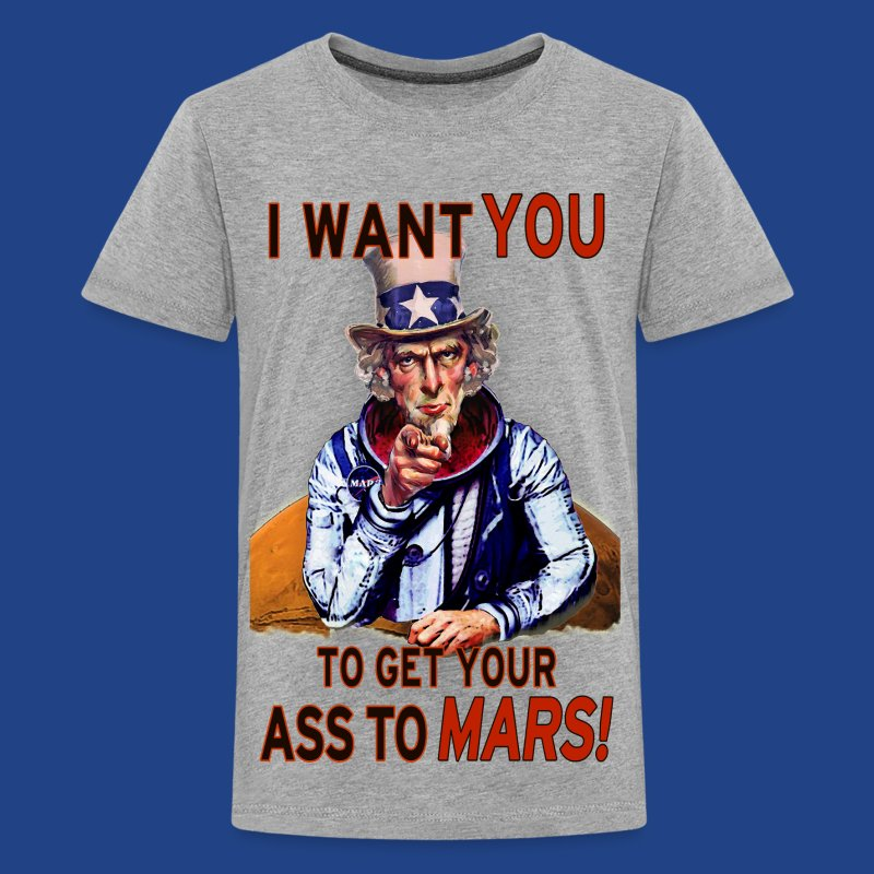Uncle Sam - Mars - Kids' Premium T-Shirt