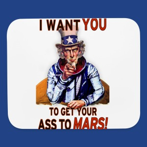 Uncle Sam - Mars - Mouse pad Horizontal