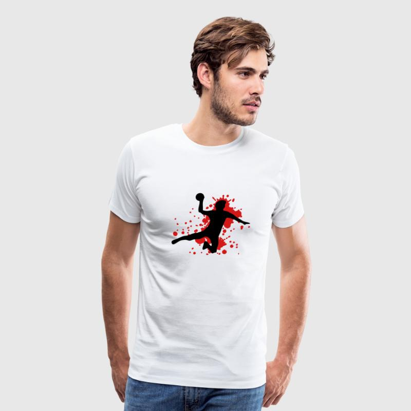 White dodgeball T-Shirts - Men's Premium T-Shirt