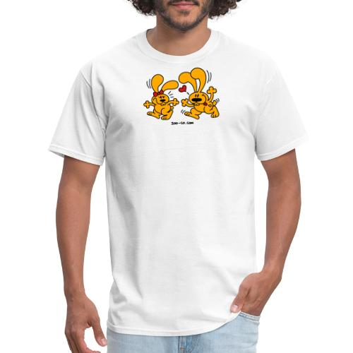 Hot Bunnies - Men's T-Shirt