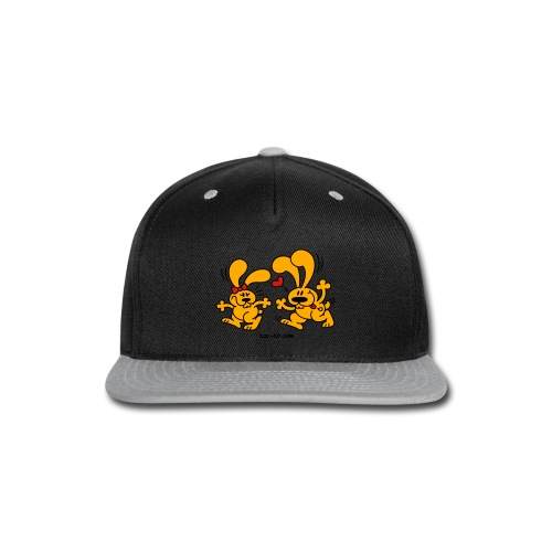 Hot Bunnies - Snap-back Baseball Cap