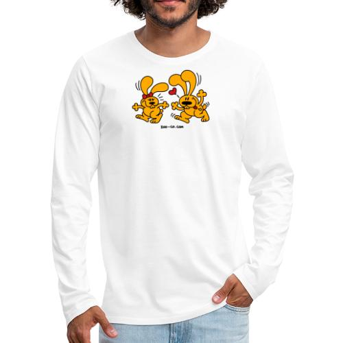 Hot Bunnies - Men's Premium Long Sleeve T-Shirt