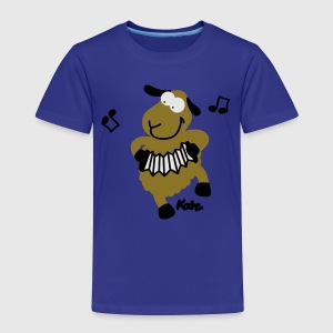 Royal blue Sheep (c) Kids' Shirts - Toddler Premium T-Shirt