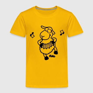 Yellow sheep Kids' Shirts - Toddler Premium T-Shirt