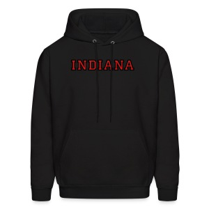Indiana College Style T-Shirt - Men's Hoodie