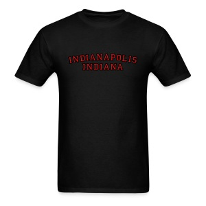 Indianapolis, Indiana College Style T-Shirt - Men's T-Shirt