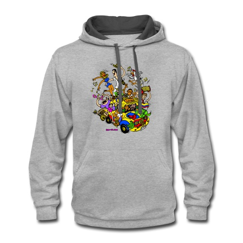 Chiva Colombiana - Contrast Hoodie