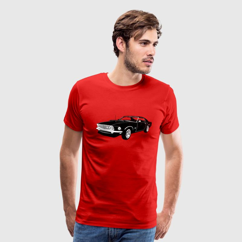 1969 Ford Mustang Boss 429 - Men's Premium T-Shirt