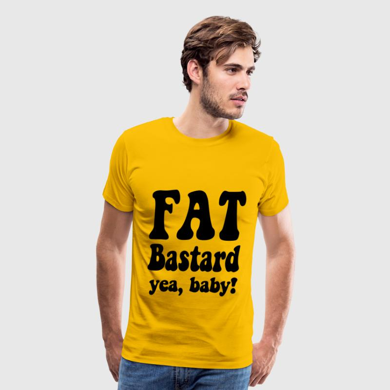 Fat Bastard T-Shirts - Men's Premium T-Shirt