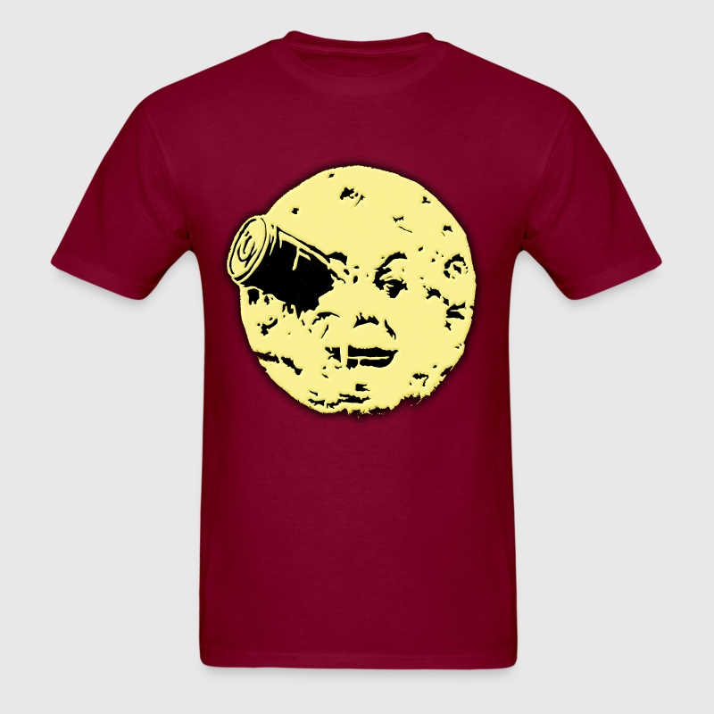 Le Voyage dans le Lune Hugo Man In Moon T-Shirts - Men's T-Shirt