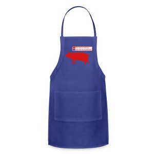 Pig Butchering Guide - Men's Tank - Adjustable Apron