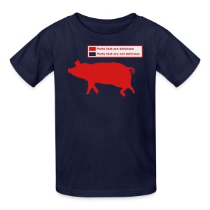 Pig Butchering Guide - Men's Tank - Kids' T-Shirt