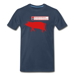 Pig Butchering Guide - Men's Tank - Men's Premium T-Shirt