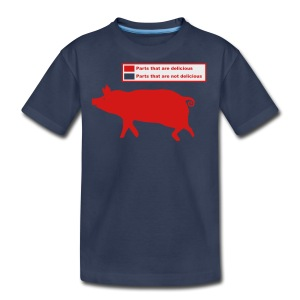 Pig Butchering Guide - Men's Tank - Kids' Premium T-Shirt