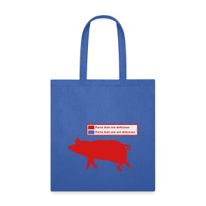 Pig Butchering Guide - Men's Tank - Tote Bag