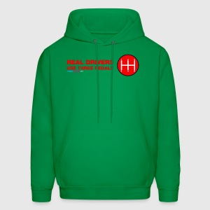 Real Drivers Use Three Pedals - Men's Hoodie