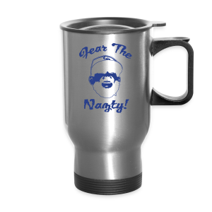 Fear The Nazty - White - Mens T-shirt - Travel Mug