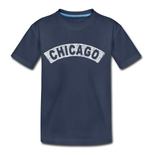 Throwback Chicago Arch - Toddler Premium T-Shirt